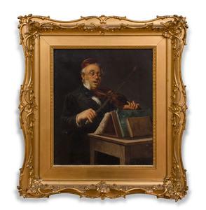 European School: Violinist