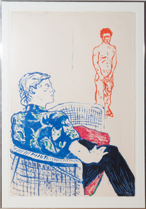DAVID HOCKNEY (b. 1937): JOE WITH DAVID HARTE