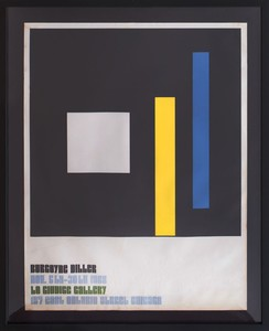 AFTER BURGOYNE DILLER (1906-1965): LO GIUDICE GALLERY POSTER: A PAIR