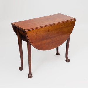 George II Style Mahogany Drop Leaf Table