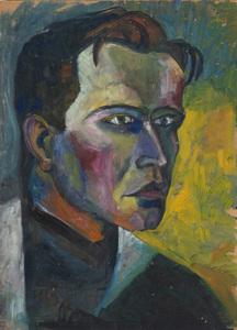 GRETHE JÜRGENS (1885-1950): BILDNIS HANS HARTUNG