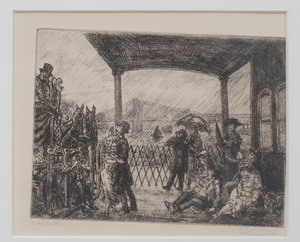 John Sloane (1871-1951): The Wake on the Ferry
