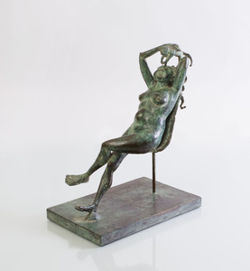20TH CENTURY SCHOOL: RECLINING NUDE