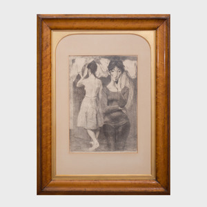 Raphael Soyer (1899-1987): Two Figures