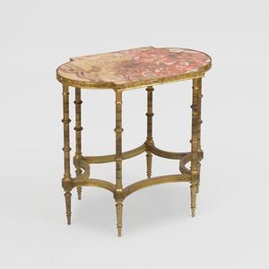 Louis XVI Style Ormolu Mounted Marble Gueridon