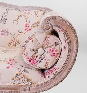 George III Style Painted Settee