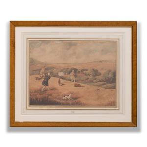 Henry Alken (1810-1894): The Moor; and The Field