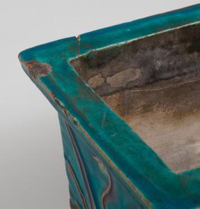 Chinese Turquoise Glazed Fahua Jardinière