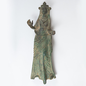 Etruscan Style Bronze Figure of Diana