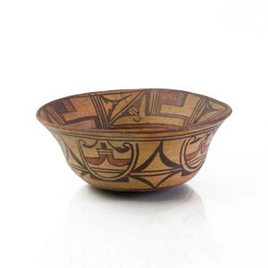 San Ildefonso Pueblo Large Dough Bowl, New Mexico