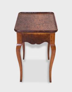 Diminutive Louis XV Provincial Walnut Side Table