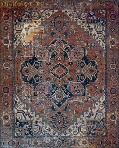 Heriz Medallion Carpet