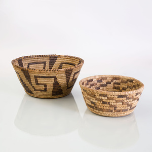 Group of Seven Woven Baskets