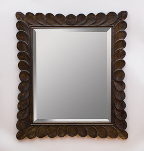 STAINED AND EBONIZED MIRROR
