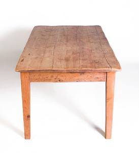 Rustic Pine Farm Table