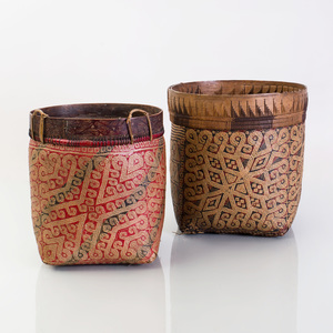 Two Cylindrical Baskets