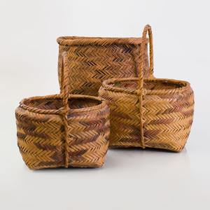 Two Circular Baskets