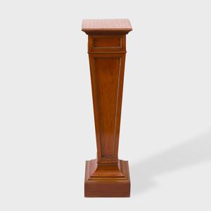 Regency Style Satinwood and Parcel-Gilt Pedestal