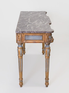 Italian Neoclassical Style Painted and Parcel-Gilt Console