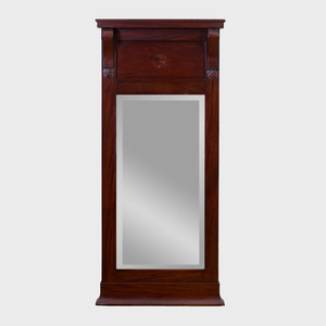 American Classical Mahogany Pier Mirror