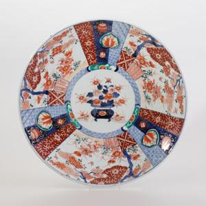 Japanese Porcelain Imari Charger