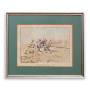 Henry Thomas Alken (1785-1851)l: Qualified Horses and Unqualified Riders: Seven Plates