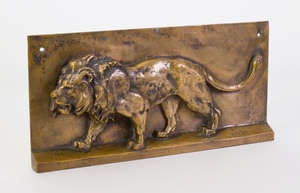 Antoine-Louis Barye (1795-1875): Lion Relief