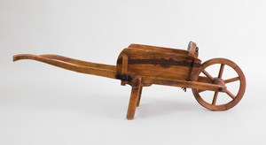 English Oak Model of a Wagon