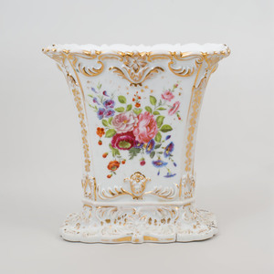 Paris Porcelain Rectangular Spill Vase