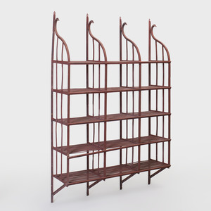 Continental Painted Metal Baker's Rack