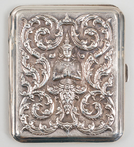 Group of Four Thai Silver Accessories