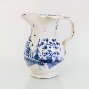 Leeds Type Pearlware Cream Jug