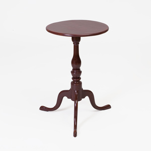 Federal Birch and Cherry Candlestand, New England