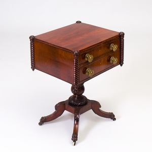 Federal Mahogany Work Table