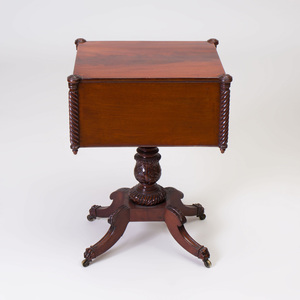 Federal Mahogany Work Table