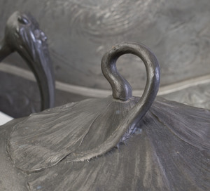 Group of Art Nouveau Pewter Table Wares