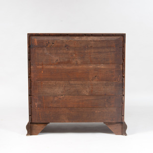 George III Mahogany Slant-Front Desk
