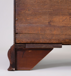 Chippendale Mahogany Slant-Front Desk, Probably Pennsylvania
