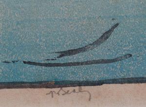 Hiroshi Yoshida (1876-1950): Carp Fishers