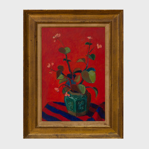 Kyohei Inukai (1913-1985): Flowers in a Vase