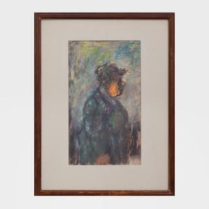 Benjamin Kopman (1887-1965): Woman in the Park