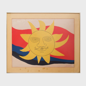Alexander Calder (1898-1976): Sun Face