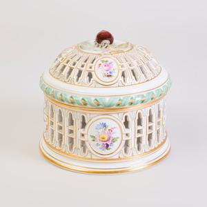 Meissen Porcelain Ice Cream Bell