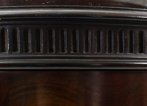 Pair of Mahogany Urn Form Knife Boxes, of Recent Manufacture