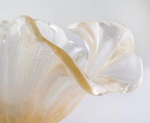 Murano Internally Decorated Glass Bowl