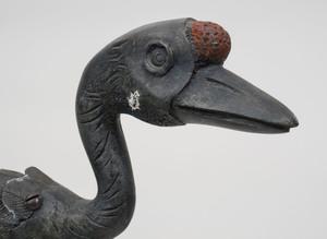 Pair of Chinese Bronze Ducks