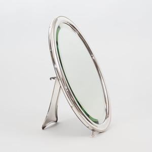 Austrian Silver Dressing Mirror