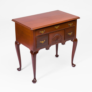 Chippendale Cherry Lowboy, New England