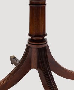 George III Style Mahogany Extension Breakfast Table