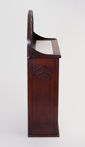 Gothic Style Stained Oak Hall Cabinet